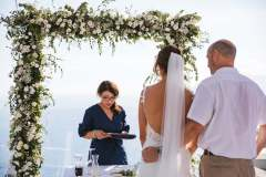 Symbolic wedding ceremony at Relais Blu in Massa Lubrense, Sorrento - wp: Bella Sposa, ph: The Bros Photography