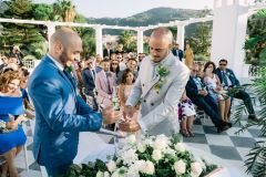 Gay wedding in Sorrento at Villa Silvana - wp: Bella Sposa, ph: Francesco DeTito