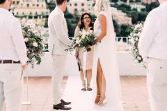 Positano symbolic wedding ceremony at Hotel Marincanto - wp: Emma Events, ph: Lace & Luce