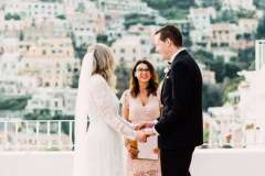The perfect backdrop to a perfect moment: a Hotel Marincanto wedding in Positano - ph: Lace & Luce