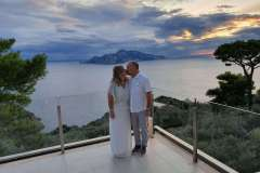 I still do! A vows renewal with a view at Relais Blu
