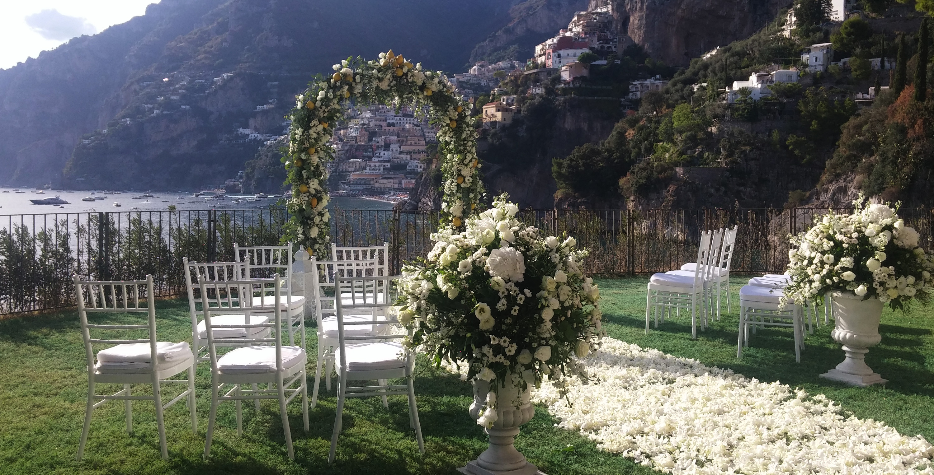 2019 Italy wedding flowers